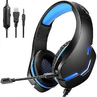 Căști cu fir pentru jocuri, microfon detașabil, potrivit pentru Ps5, Ps4, PC, Xbox, Nintendo