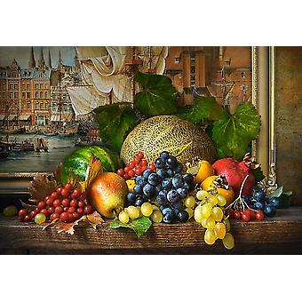 Castorland Still Life with Fruits Jigsaw Puzzle (1500 Pieces)