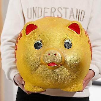 קופת וגי חמודה, קופת פיגי לילדים יוקרתית, כספת גדולה ויצירתית, קופת מזומנים מפלסטיק