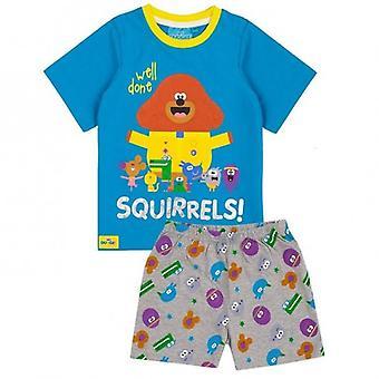 ヘイダギーボーイズよくやったリスキャラクターショートパジャマセット