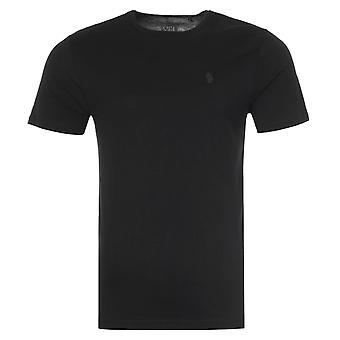 Luke 1977 Pima Crew Neck T-Shirt - Black