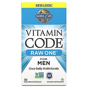 Vitamin Code RAW ONE for Men - 30 vcaps