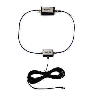 Přenosná pasivní magnetická smyčková anténa pro Hf a Vhf