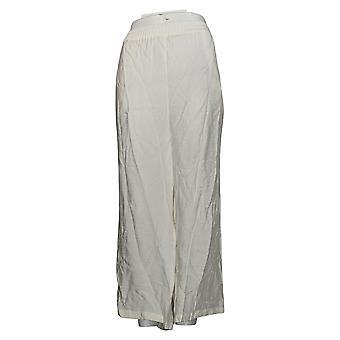 WynneLayers av MarlaWynne Dame Bukser Rett Beskåret Crepe White 655112