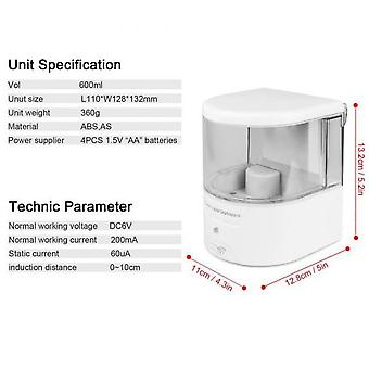 600ml Wall Mounted Automatic Infrared Sensor Soap Dispenser Non-contact Soap Lotion Pump Battery Powered