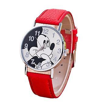 7 цветов Симпатичные часы Мультфильм Кварцевые наручные часы
