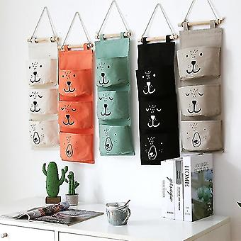 Wall Hanging Bathroom Toy Bags Organizer Linen Closet Pouch