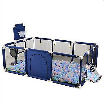 Baby Crawling Kleinkind Zaun Spiel Zaun Schutzzaun Indoor Home (BLAU)