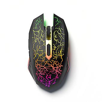 Wireless Gaming Mouse ricaricabile Silent Optical Mice Led Lights