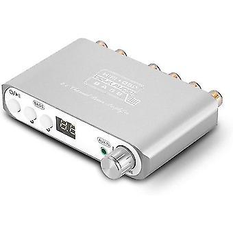 Q100 2.1 kanaals hifi bluetooth 5.0 eindversterker klasse d mini stereo audio versterker luidspreker subwoofer