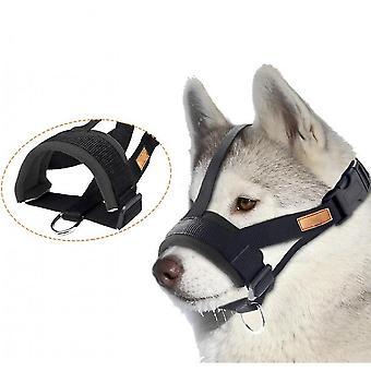 כלב רך נגד נשיכה נביחות מאובטח, רשת חיות מחמד נושמות לוע לכלבים