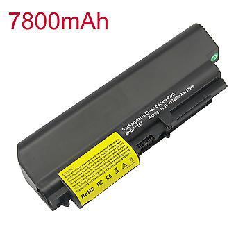 6600mah Battery For Ibm Lenovo  For Thinkpad R61 7755  77517742 T61 7663  7660  R400 T400 42t5225 42t5227 42t5262 42t5264