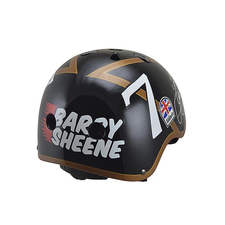 Kiddimoto Official and Signed Barry Sheene Helmet