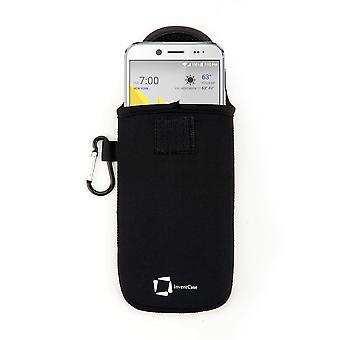 InventCase Neopren Schutztasche für HTC Bolt - Schwarz