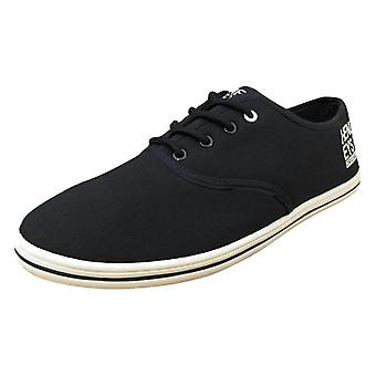 Henleys Men's Stash Fashion Canvas Trainers Shoes Pumps