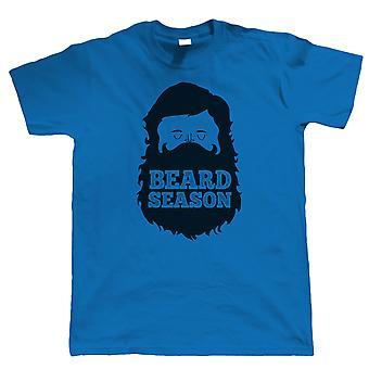 Temporada da Barba, camiseta engraçada mens