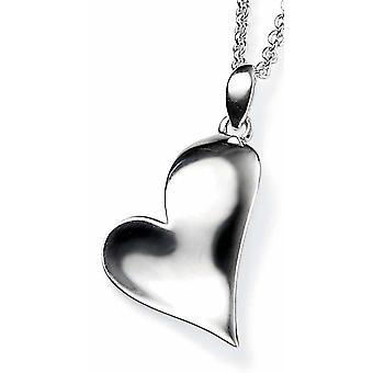 925 zilveren hart ketting
