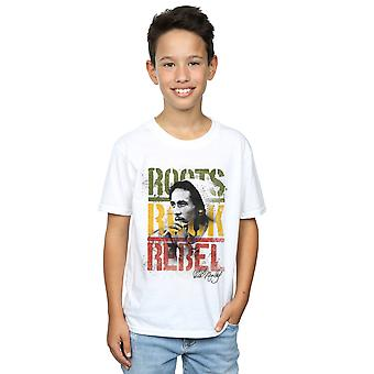 Bob Marley Boys Roots Rock Rebel T-Shirt