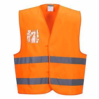 Portwest - Hi-Vis Workwear Warnweste - Dual-Schlüsselhalter