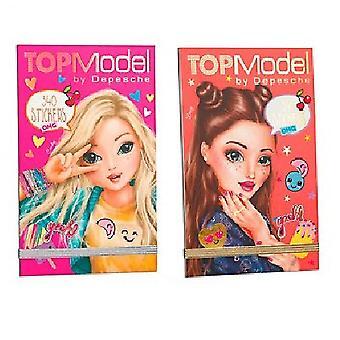 Top Model Stickerpad OMG - en leveres