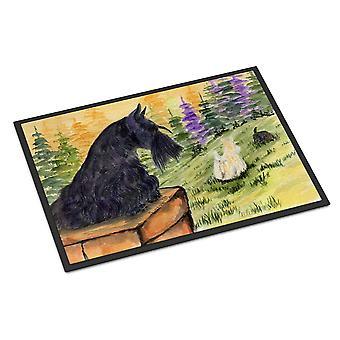كارولين الكنوز SS8634JMAT دو الكلب اﻻسكتلندي الأماكن المغلقة أو في الهواء الطلق حصيرة 24 × 36