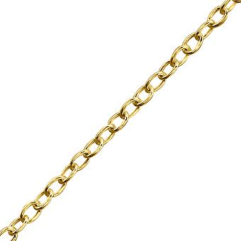 Round Link - 925 Sterling Silver Single Chains - W29583X