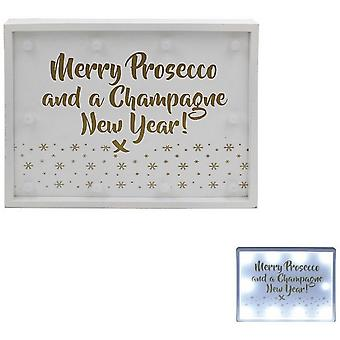 Prosecco And Champagne LED Lights Sign