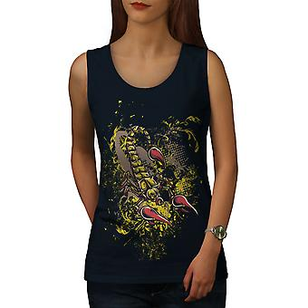 Scorpion Art Wild Women NavyTank Top | Wellcoda