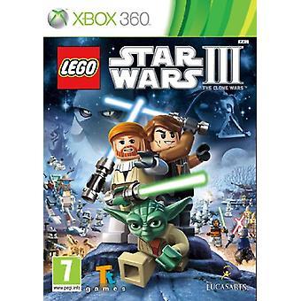 LEGO Star Wars 3 Kloonisotia (Xbox 360) - Uusi