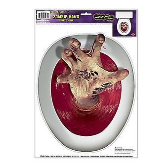 Hand Toilet Topper Peel 'N plaats 12