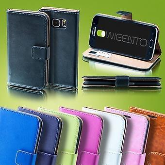 Zak portemonnee premium zwart voor Huawei P10 Bescherm hoes dekking behuizing