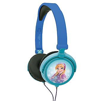 Disney Frozen Elsa and Anna Girls Headphones Blue (Model No. HP010FZ)