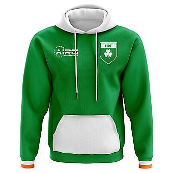 2018-2019 Irland Hem Concept fotboll Hoody