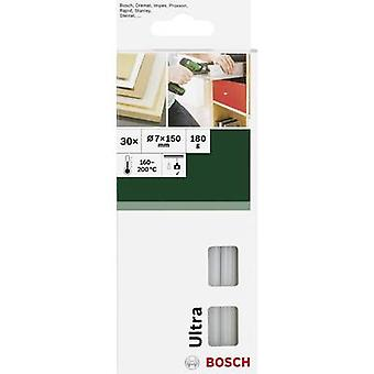 Bosch Accessories Hot melt glue sticks 7 mm 150 mm Transparent (opaque) 180 g 30 pc(s)