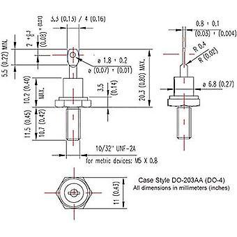 Vishay 12F10 diodo