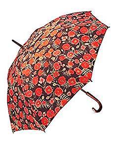 Poppy Design Umbrella (Straight)