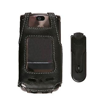 Pacote 5 - giratória Clip capa de couro para Motorola RAZR2 V9 V9m