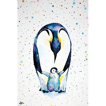 Pingviini julisteita vähän astuu Marc 928S4