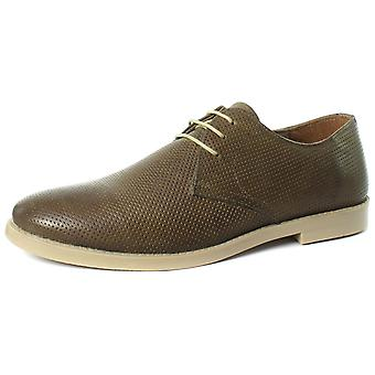 Red Tape MK059342 Taupe Mens Lace Up Shoes