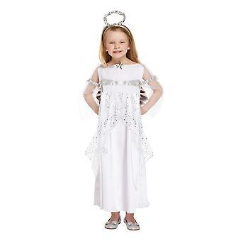 Christmas Shop Childrens/Kids Angel Fancy Dress Costume