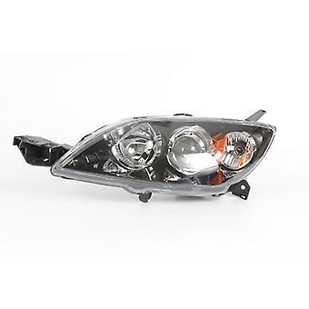 Left Headlamp (Electric Without Motor Hatchback Models) for Mazda 3 2004-2009