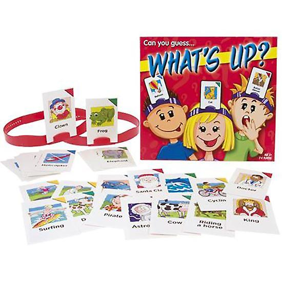 What's Up Game Age 5+ Childrens Guessing Game Whats on my Head?