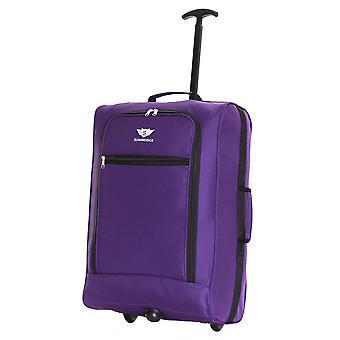 Slimbridge Montecorto Cabin Trolley Bag, Dark Purple