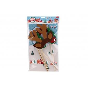 Felt Assorted Christmas Novelty Photo Props