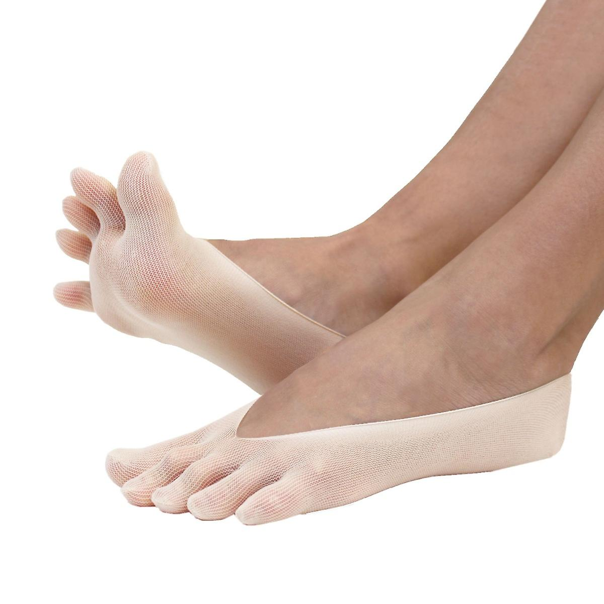 LEGWEAR - Plain Nylon Toe Foot Cover