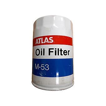 Atlas Engine Oil Filter M-53 651253 Vintage