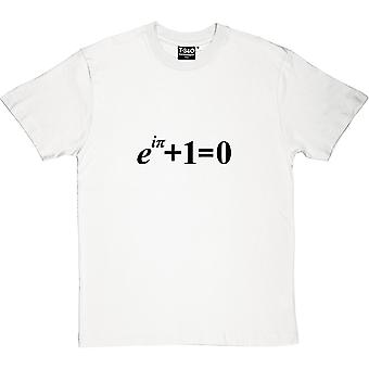 Euler-apos;s Identité Hommes blancs-apos;s T-shirt