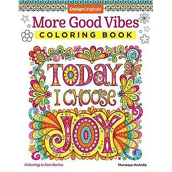 More Good Vibes Coloring Book by Thaneeya McArdle - 9781497202061 Book