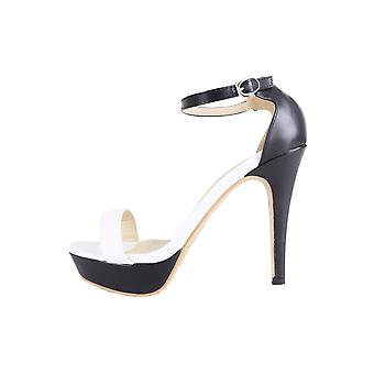 Lovemystyle Monochrome Barely There Platform Heels