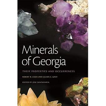 Minerals of Georgia: Their Properties and Occurrences (A Wormsloe Foundation Nature Book)
